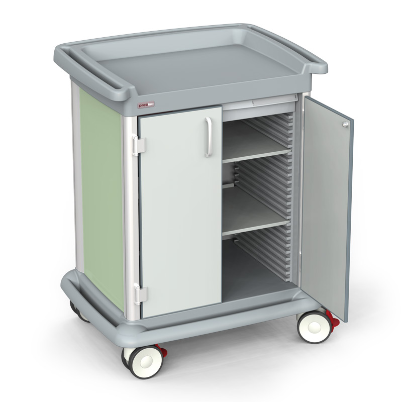 PRECISO N°8 – Multifunction Trolley with doors