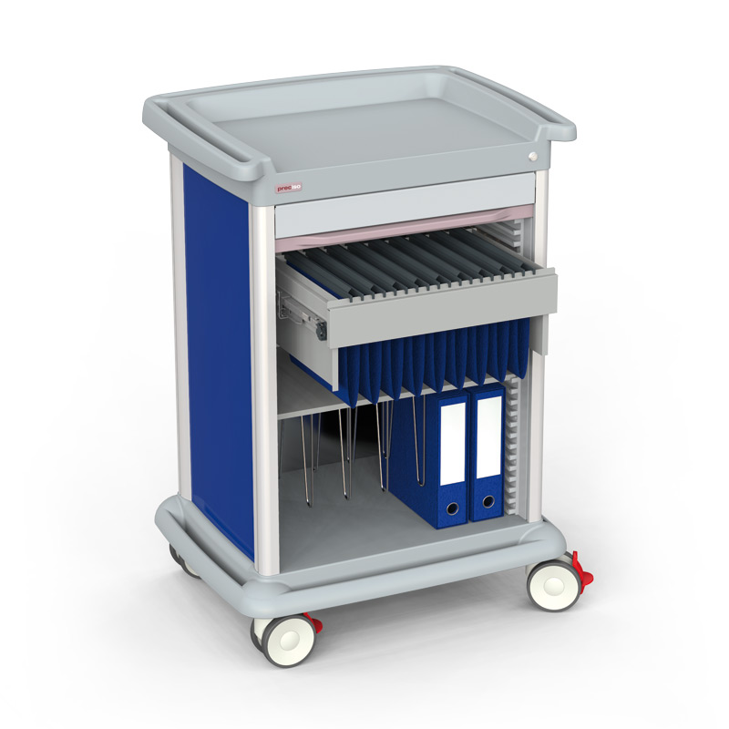 PRECISO N°9X – Patient Files Trolley