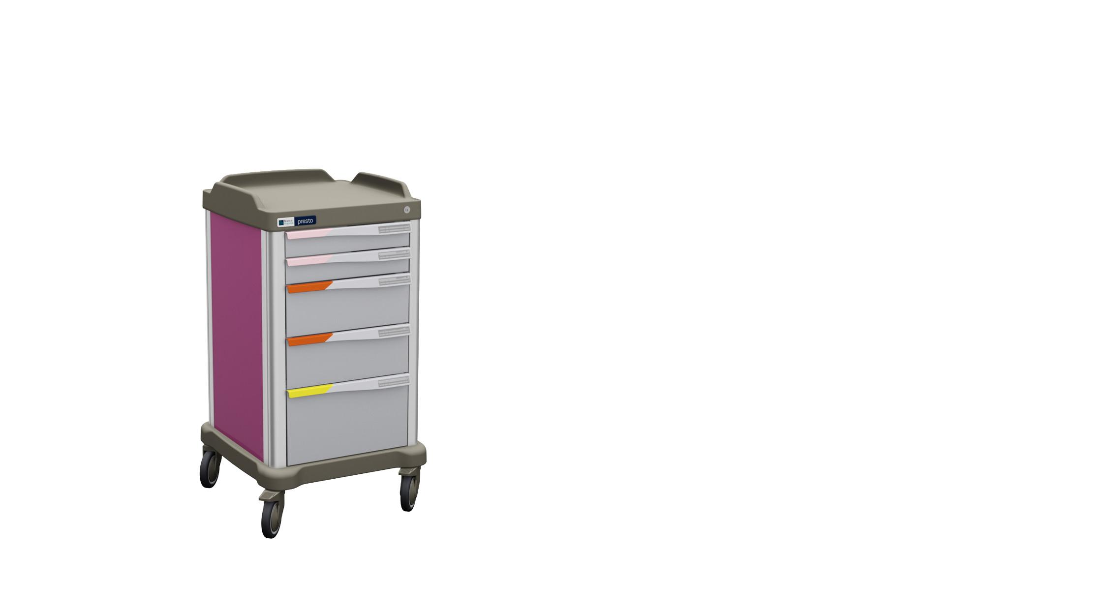 Presto small multirole hospital trolley