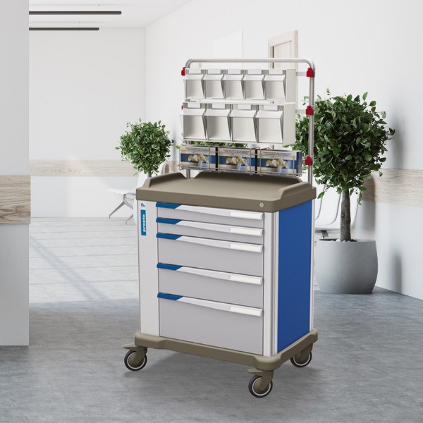 PRECISO The new ward trolleys from Francehopital