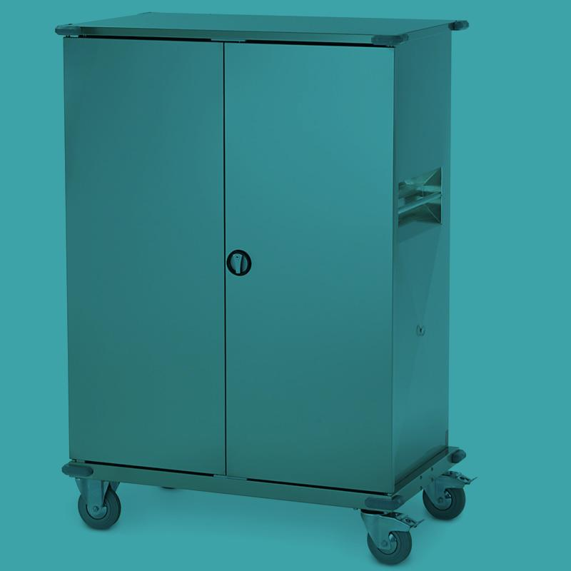 Clean Linen cabinets and trolleys