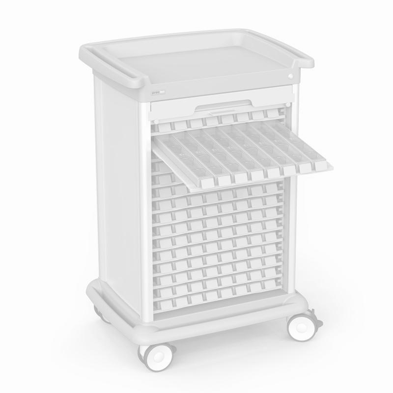 Trolleys for medication distribution