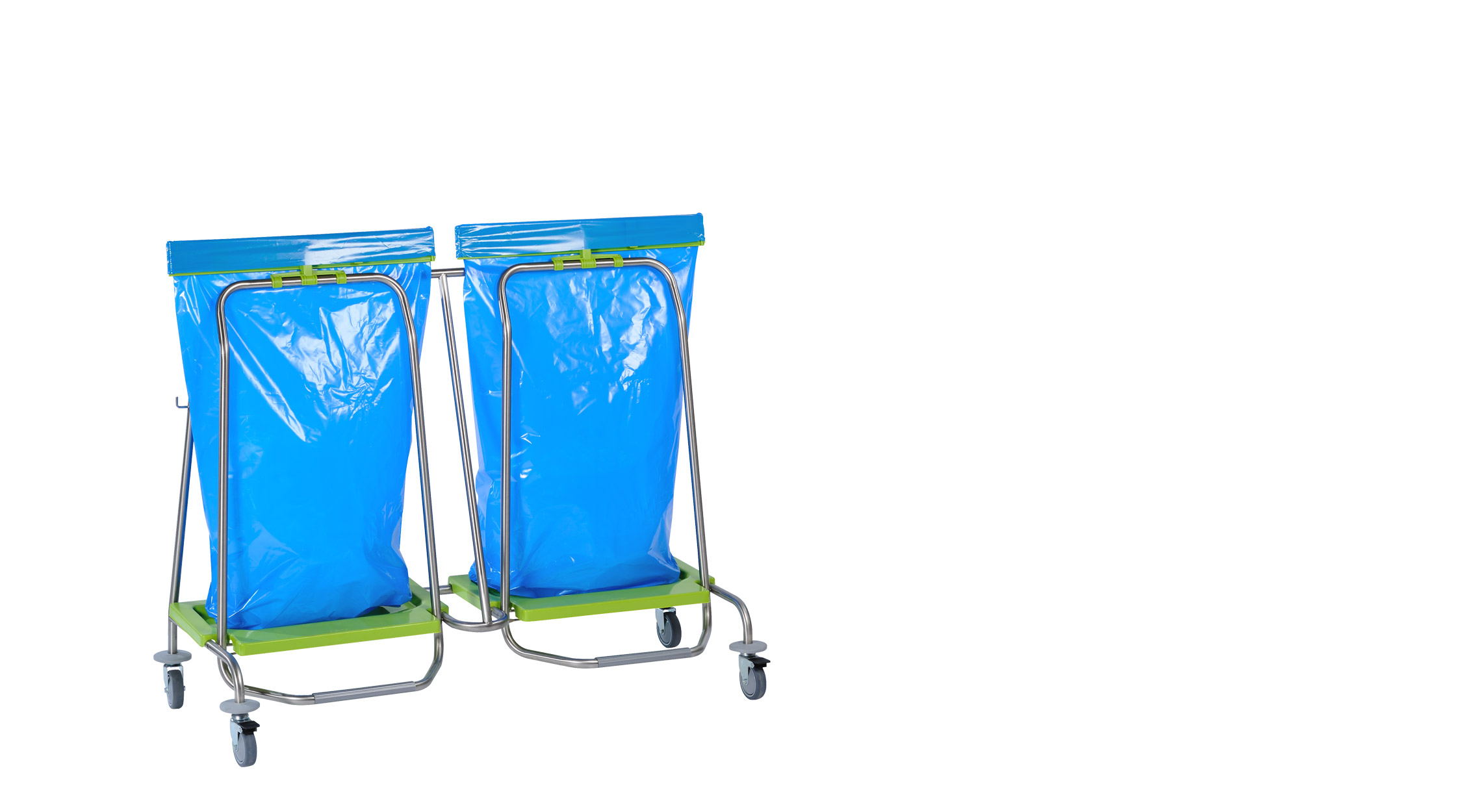 double Wasty wastebag holder