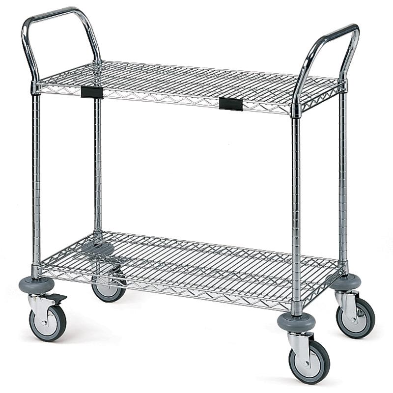 Mosys utility cart 2 shelves