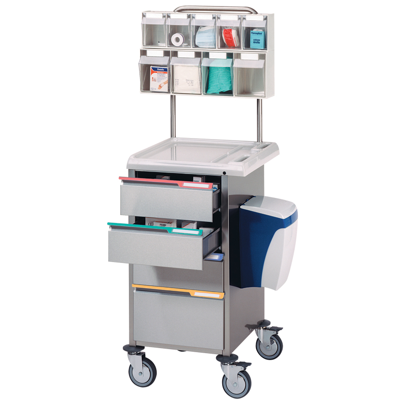 Compact Dressing Trolley