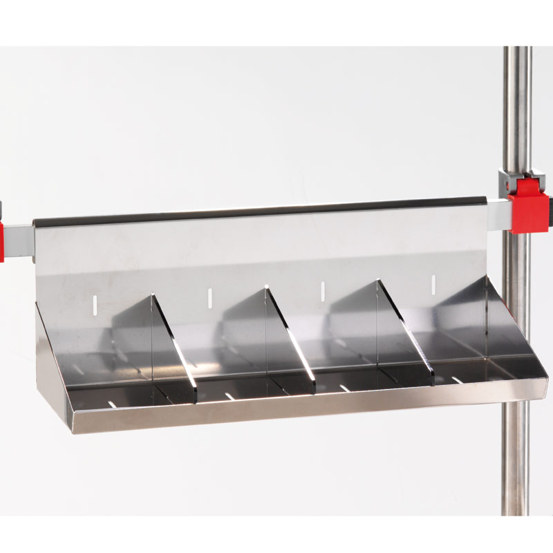 Steel Shelf and Removable Dividers