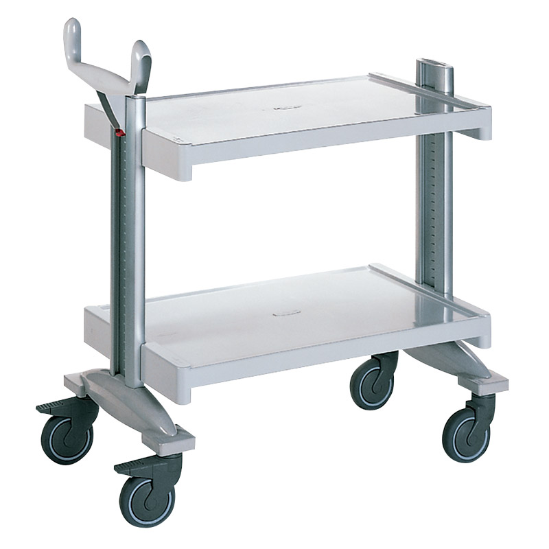 Permodul Service Trolley with 2 shelves