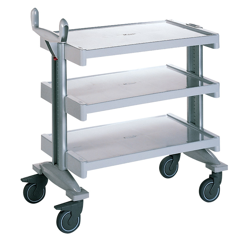 Permodul Service Trolley with 3 shelves