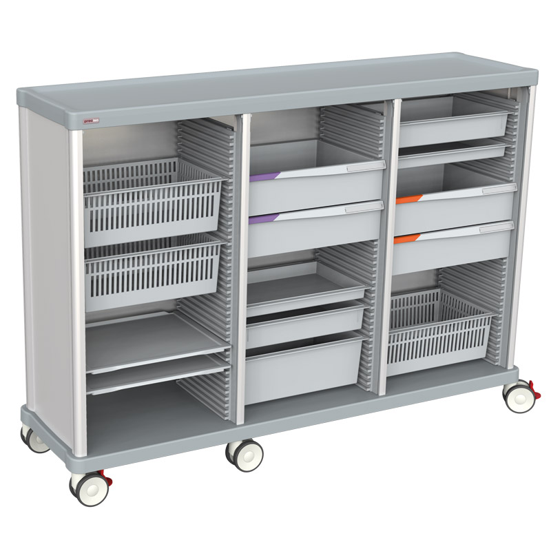 TRS 140 medium triple with drawers