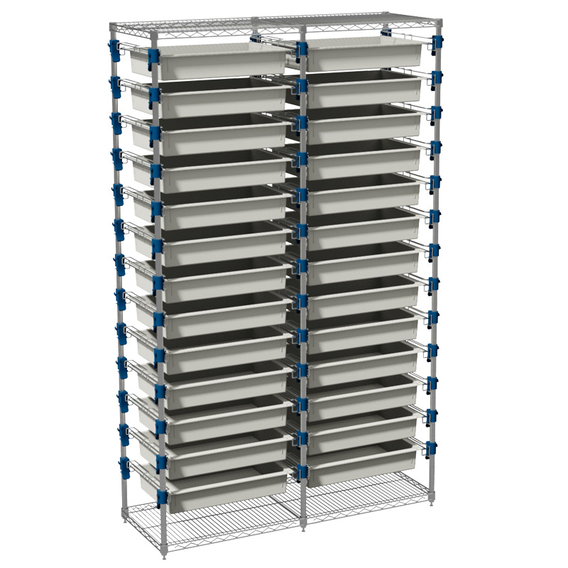 MOSYS-ISO an ISO 600x400 shelving without wheels