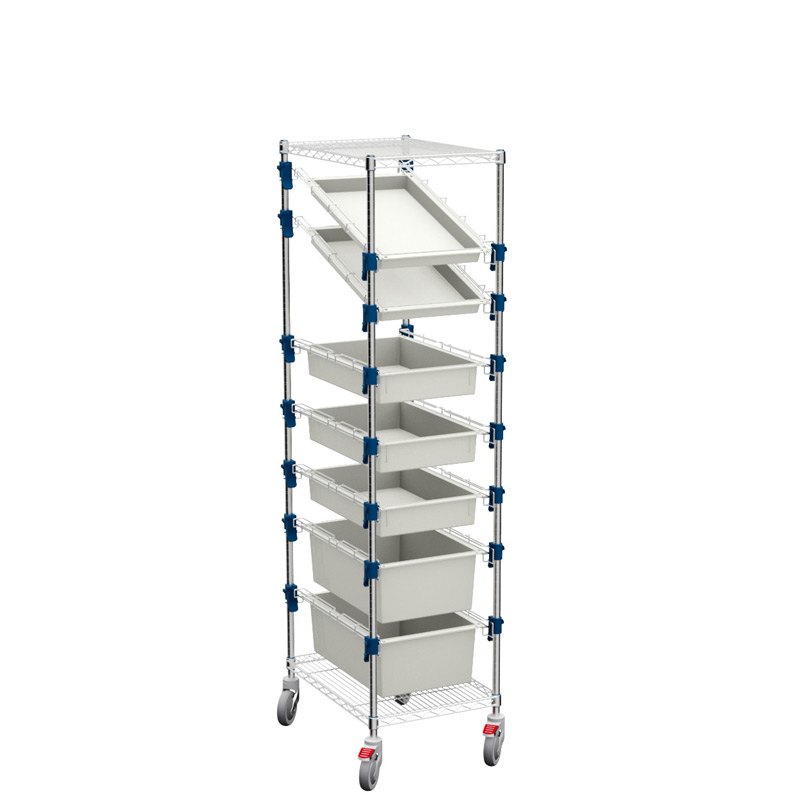 MOSYS-ISO an ISO 600x400 shelving on wheels