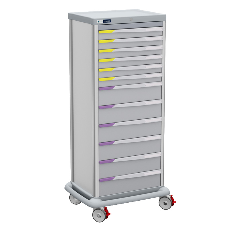 TRS 180 single with drawers