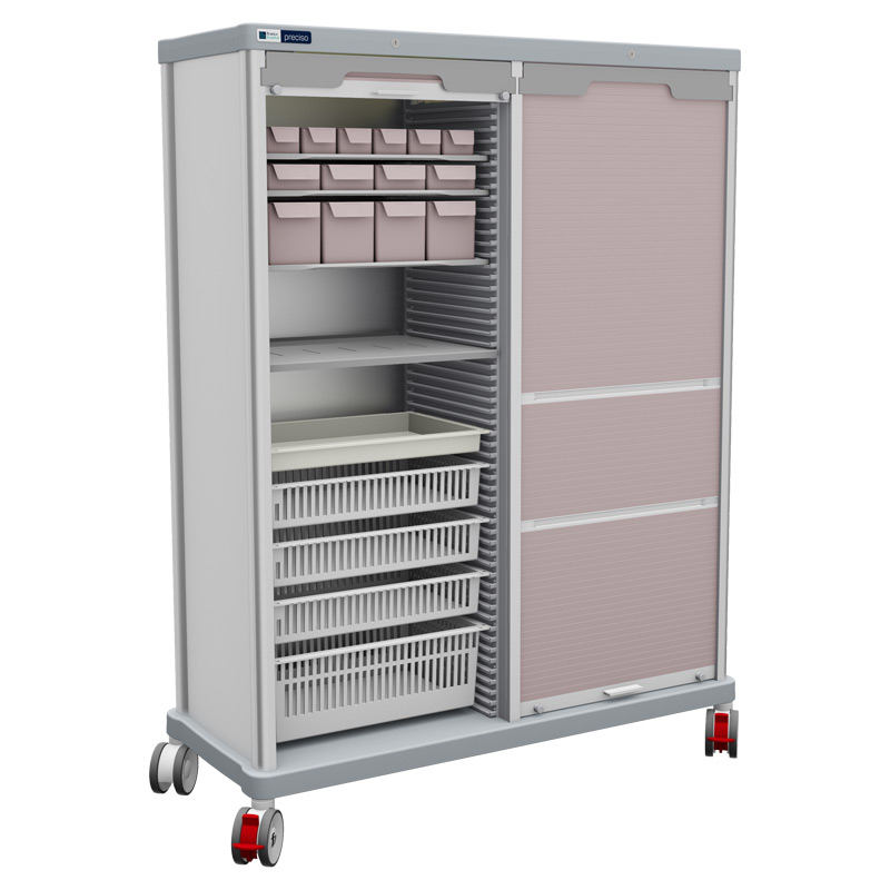 TRS 180 double with rolling shutters