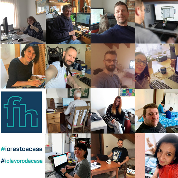 #IWorkFromHome: a greeting from us all!