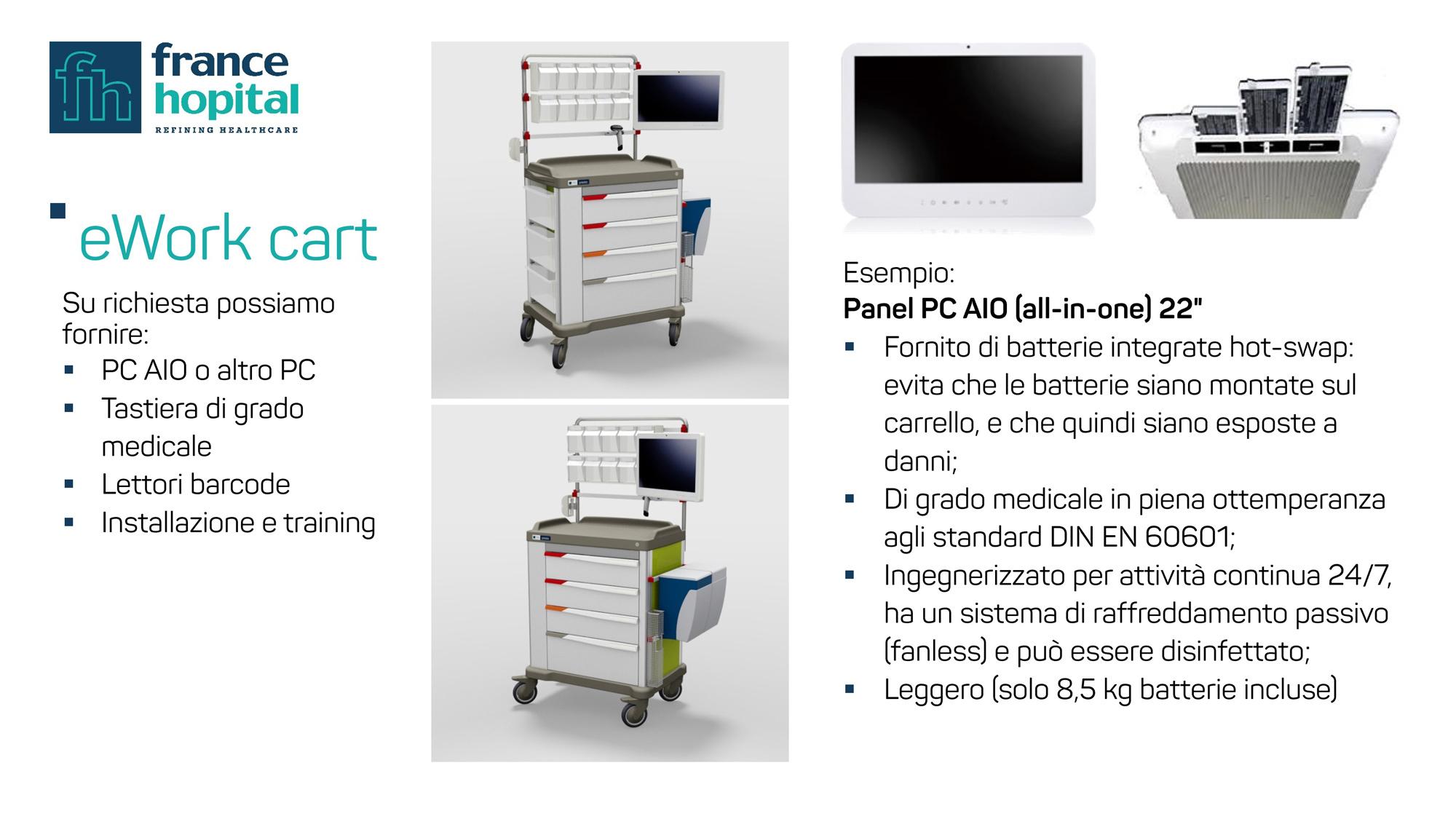 carrelli ospedalieri eWork slide 04