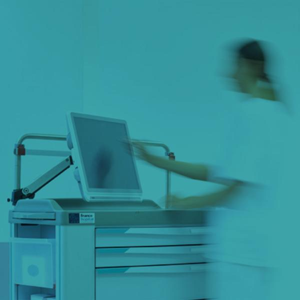 eWork Carts: carrelli per Gestione Elettronica di Terapia e Paziente