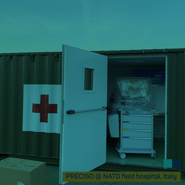 NATO field hospitals… FH equipped!