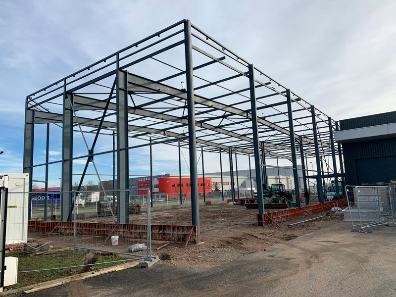 building progresses to enlarge FH facility in France