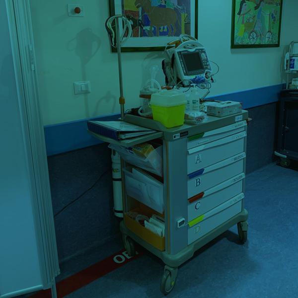 Garantire il soccorso in pochi minuti anche in reparto