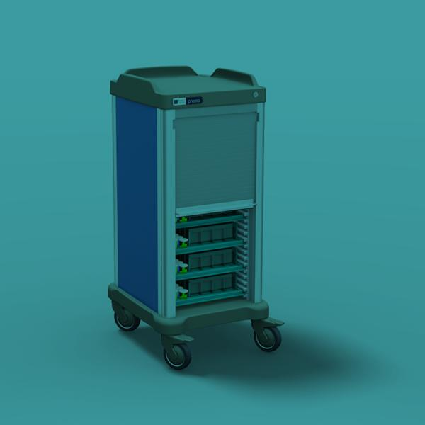 PERTE: a new therapy distribution trolley