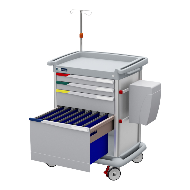 PRECISO N°9 – Therapy and Patient Files Trolley